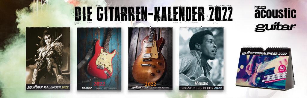 guitar-Kalender 2022