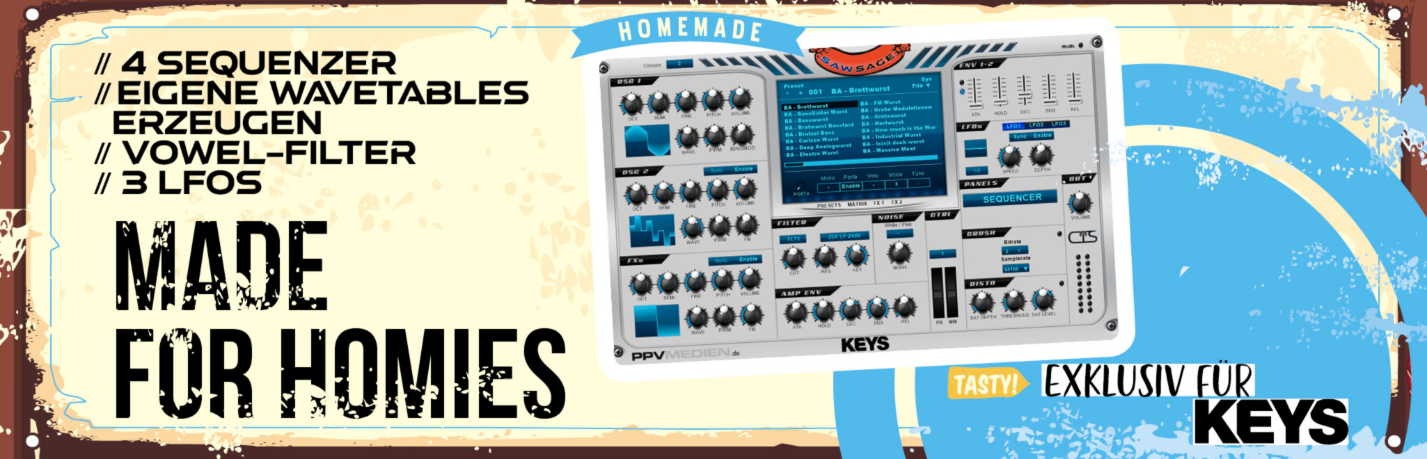 Keys SawSage
