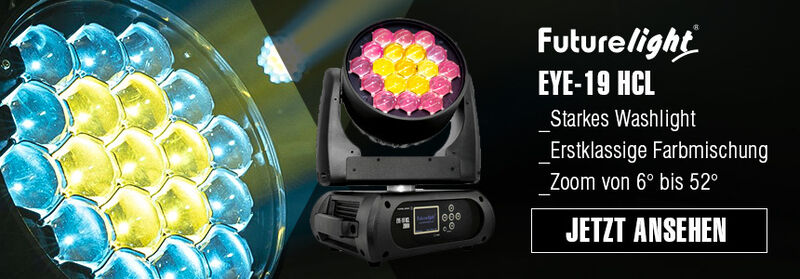 Futurelight Eye-19 Washlight